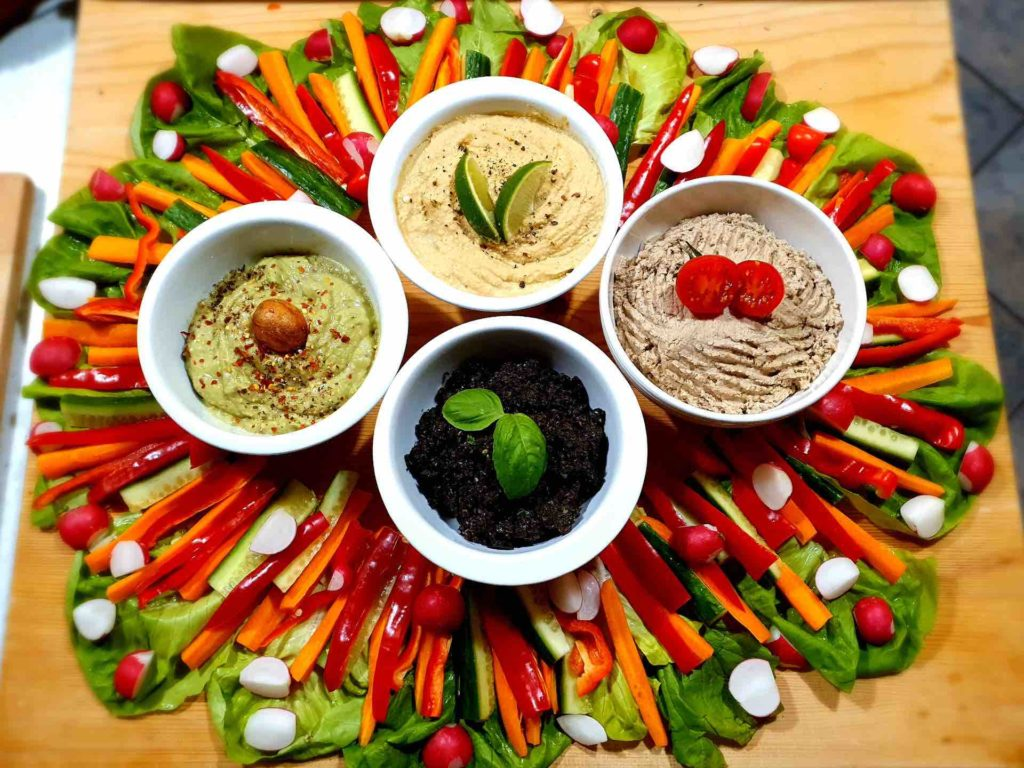 Plant-based party platter